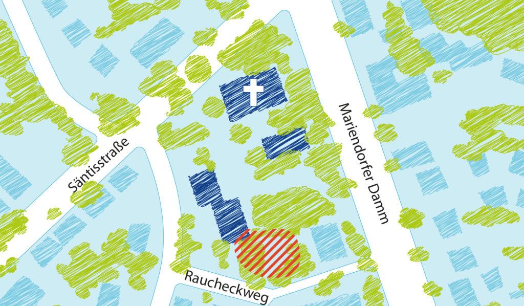 Umbau + Erweiterung Kita Mariendorf
